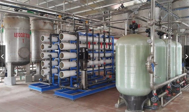 Filtration and Water Production (Filtrasi dan Produksi Air)