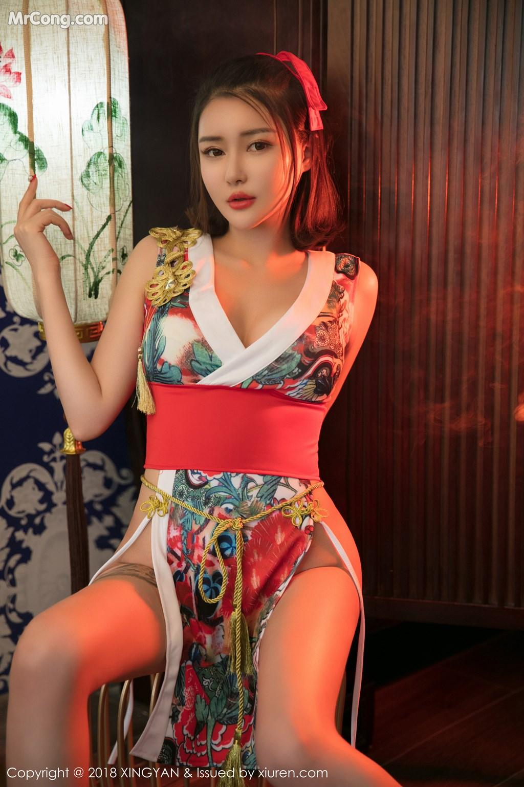 Image XingYan-Vol.028-MrCong.com-018 in post XingYan Vol.028: Người mẫu 廿十 (41 ảnh)