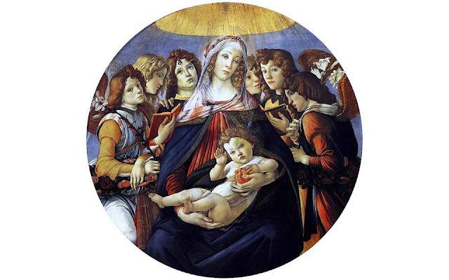Εκπληκτικό: Η ανατομία της ανθρώπινης καρδιάς στο ρόδι που κρατά ο Ιησούς σε διάσημο πίνακα του Μποτιτσέλι