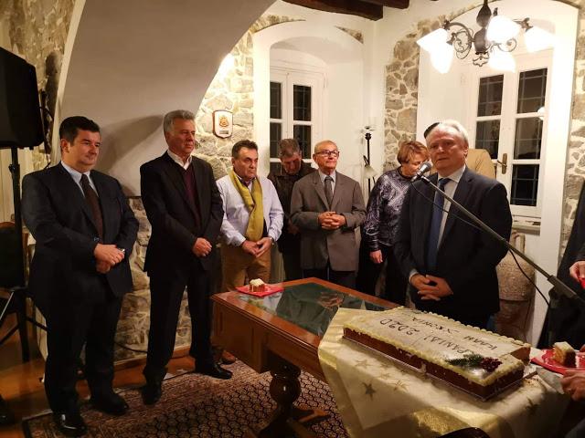 Η Κοινότητα Κρανιδίου έκοψε την Πρωτοχρονιάτικη πίτα της