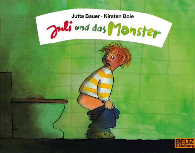 Juli und das Monster Kirsten Boie Jutta Bauer Monster Kinderbuch Kinderbücher