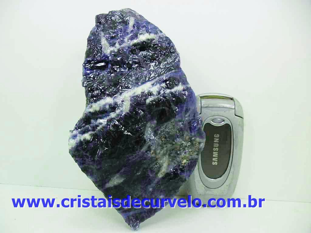 d1e72bf0f Sodalita Mineral raro para coleção ou esoterismo pedra com excelente tom de  azul e poucas manchas brancas.