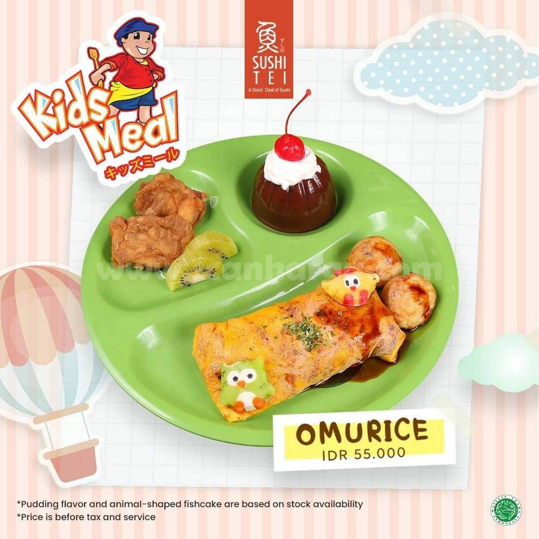 Sushi Tei Kids Meal Omurice harga cuma Rp 55.000