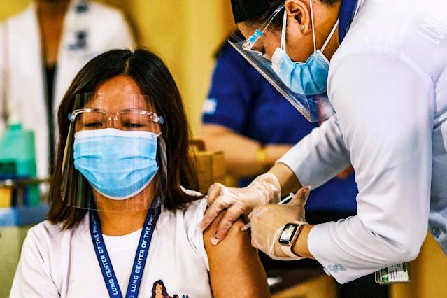 Petugas Kesehatan Filipina Meninggal Sembilan Hari Setelah Divaksin Sinovac