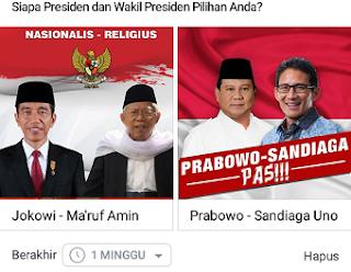cara buat polling facebook
