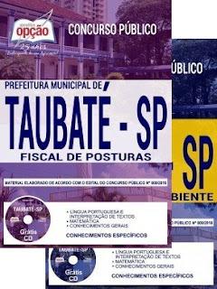 Apostila Prefeitura de Taubaté SP 2018