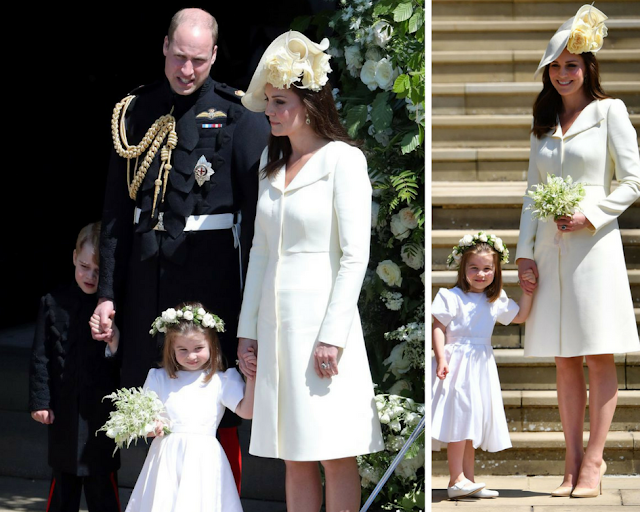 Kate, Duchess of Cambridge outfit at Royal Wedding