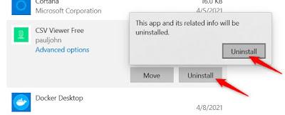 حذف لعبة من ويندوز 10