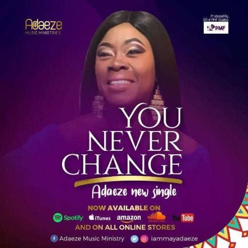 Adaeze – You Never Change (Prod. by PMF Studios)