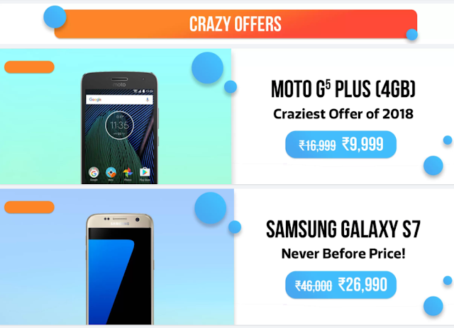 Flipkart announces Mobile Bonanza 2018- New year Sale Intrigue (3rd-5th Jan) 4