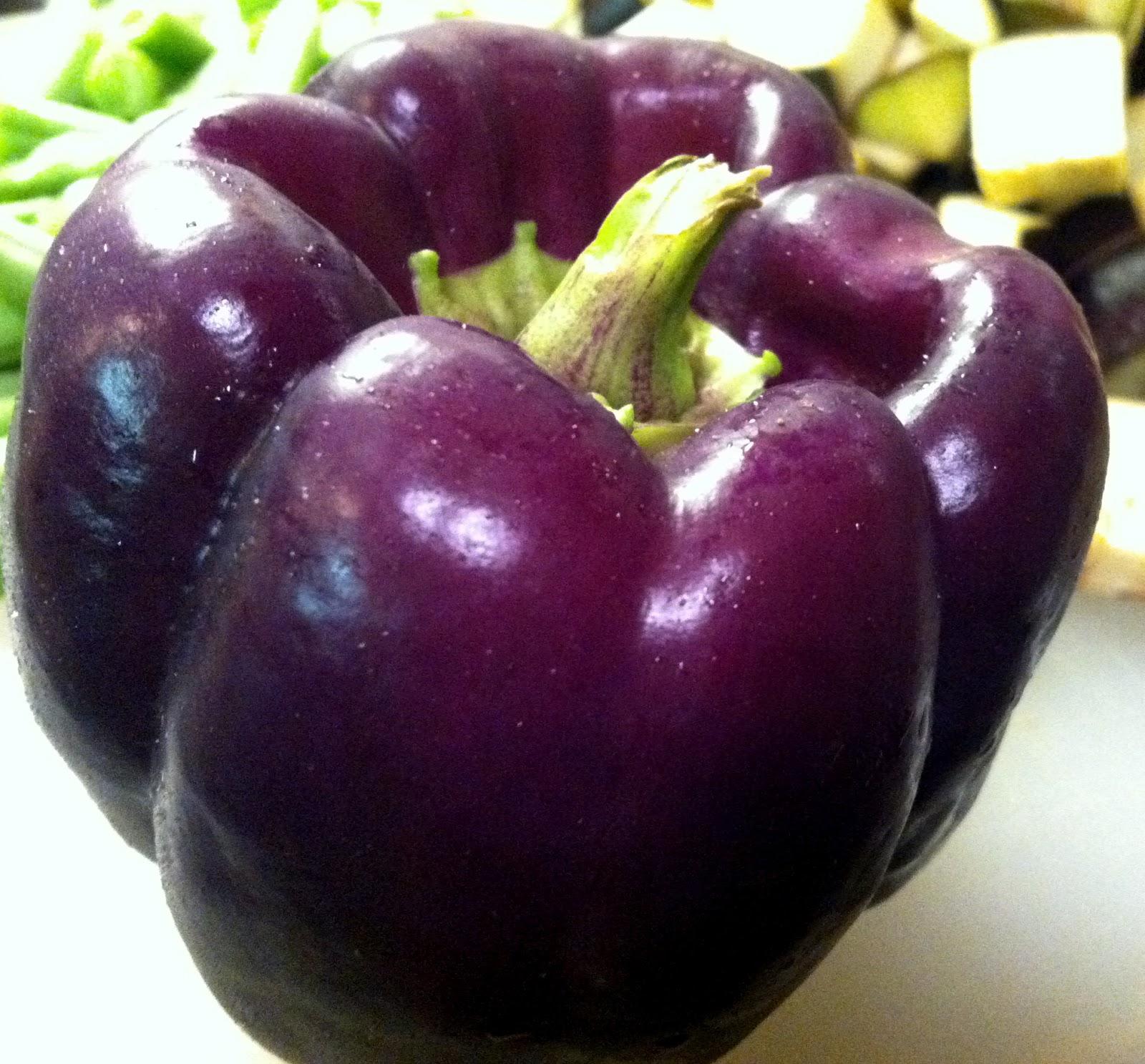 La Petite Gourmess Purple Peppers!