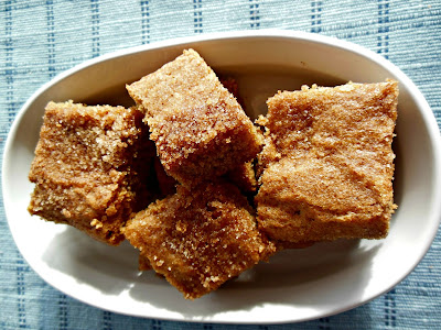 Easy to make, Sugar and Spice Snickerdoodle Bars.