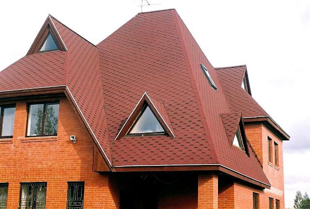 крыша мансарда фото