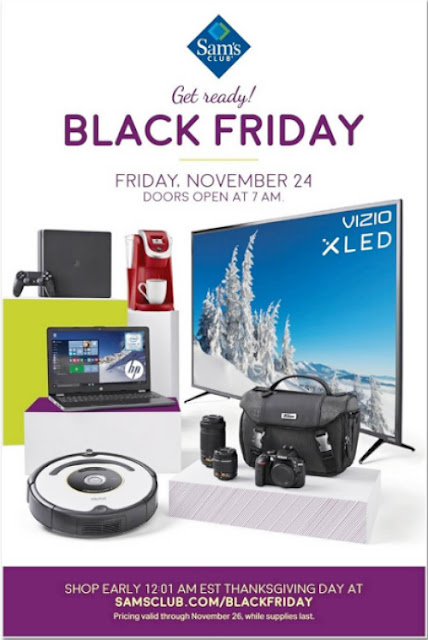 Sam's Club Black Friday 2017 Ad