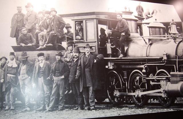 米国人が鉄道の敷設を指導した