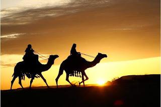 موضوع تعبير عن هجرة الرسول بالعناصر