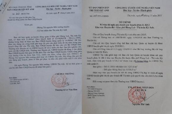 Đất quốc phòng ở Hà Tĩnh bị huyện xẻ thịt chia lô, bán nền
