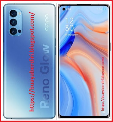 Oppo Reno 4 (5G) - Blue Color