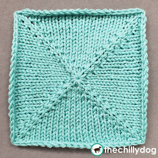 Knit Inc Sampler Square Block 11 Pattern (kfb)