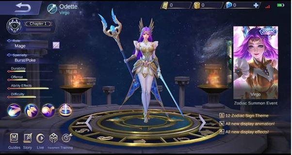 Skin Zodiac Odette Virgo