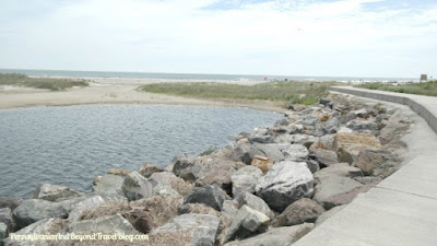 North Wildwood Seawall in New Jersey