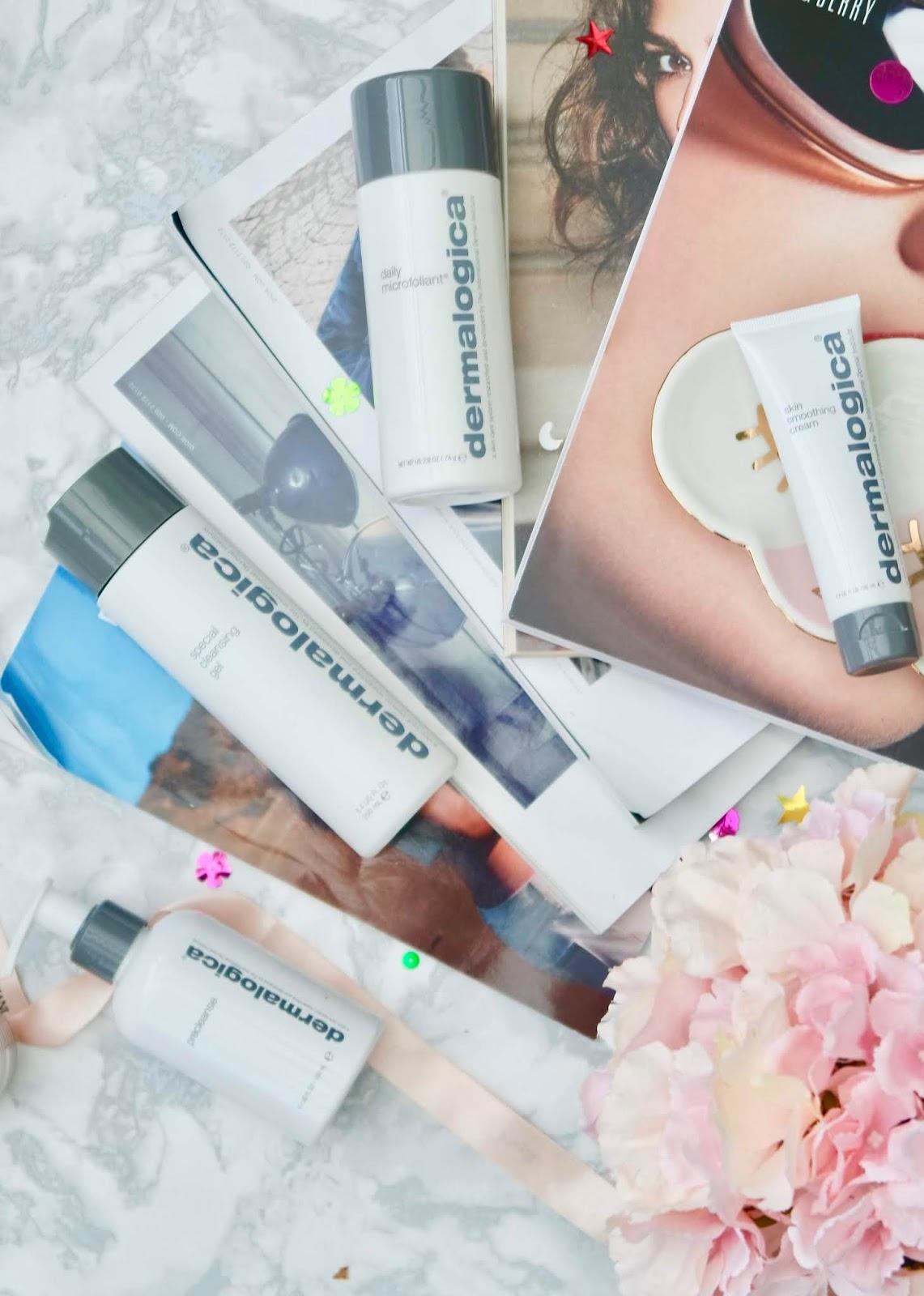 Skincare Routine Using Dermologica