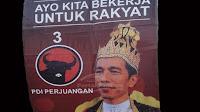 Terkuak Siapa Pemasang Poster 'Raja Jokowi'