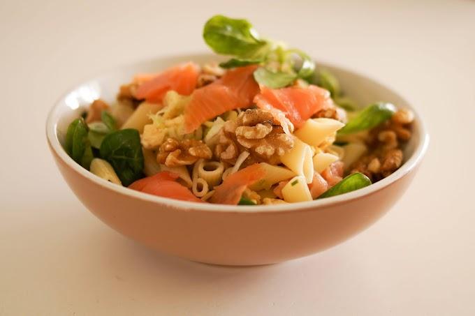 Perfect Salmon Pasta Salad