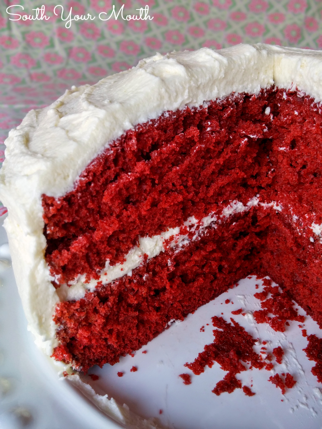 Mama S Red Velvet Cake With Cooked Ercream Frosting This Is An Old Fashioned Heirloom