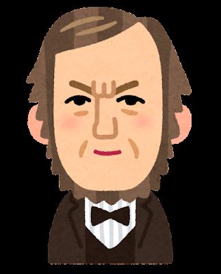 リヒャルト・ワーグナーの似顔絵イラスト(音楽家)
