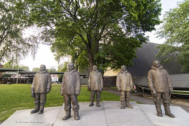 Homenaje Exploradores - Museo Fram, Oslo por El Guisante Verde Project
