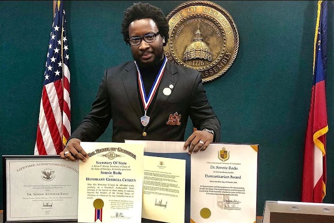 I worked hard to earn my degrees – Sonnie Badu