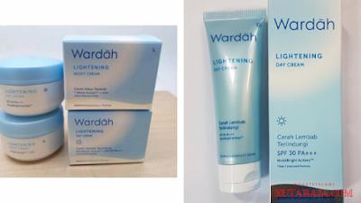 Wardah lightening day cream membantu mencerahkan dan melembabkan kulit dengan kandungan SPF 30/PA+++ yang berguna melindungi wajah dari jahatnya terik matahari.