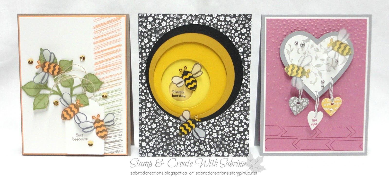 stamp u0026 create with sabrina sneak peek pun intended bee