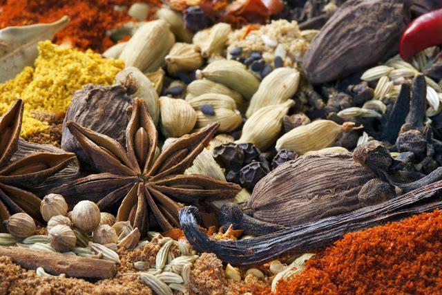 especias carninativas gases intestinales anis verde estrellado comino oregano