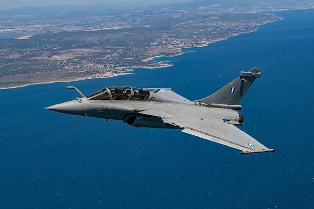 Satu dari 18 Pesawat Tempur Rafale Telah Diterima Yunani