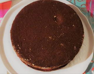 recette pas à pas gâteau framboise chocolat noir lait pâte à sucre