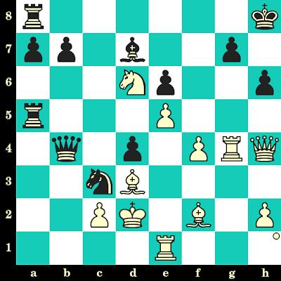 Les Blancs jouent et matent en 2 coups - Robert Fischer vs Pal Benko, Curaçao, 1962