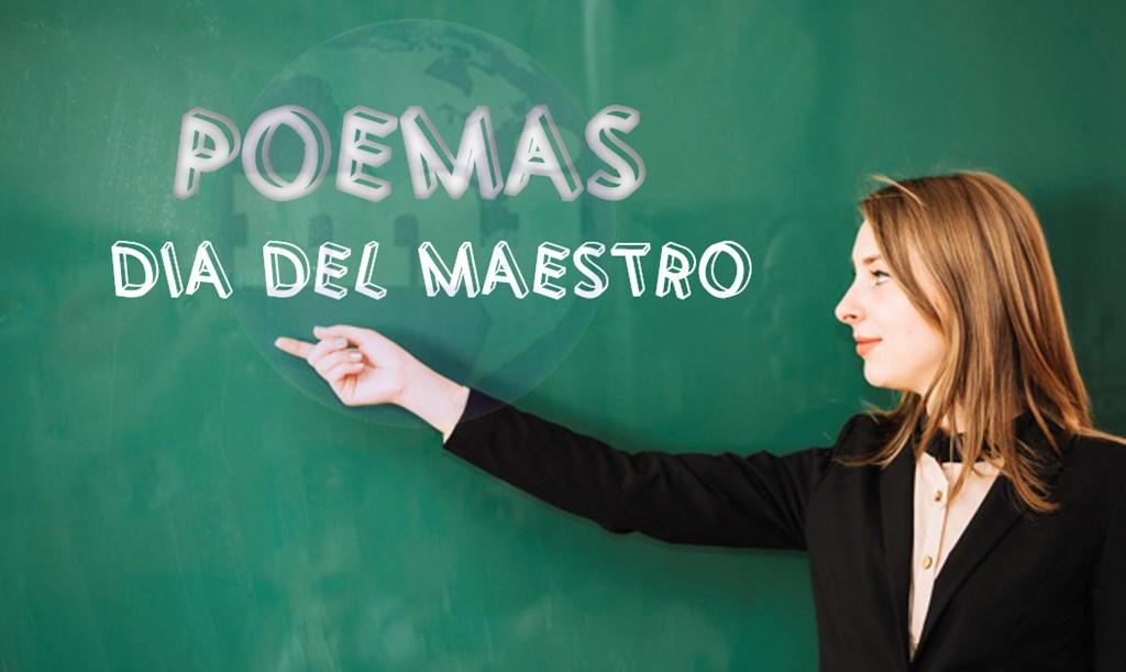 poemas y poesías para el Día del maestro