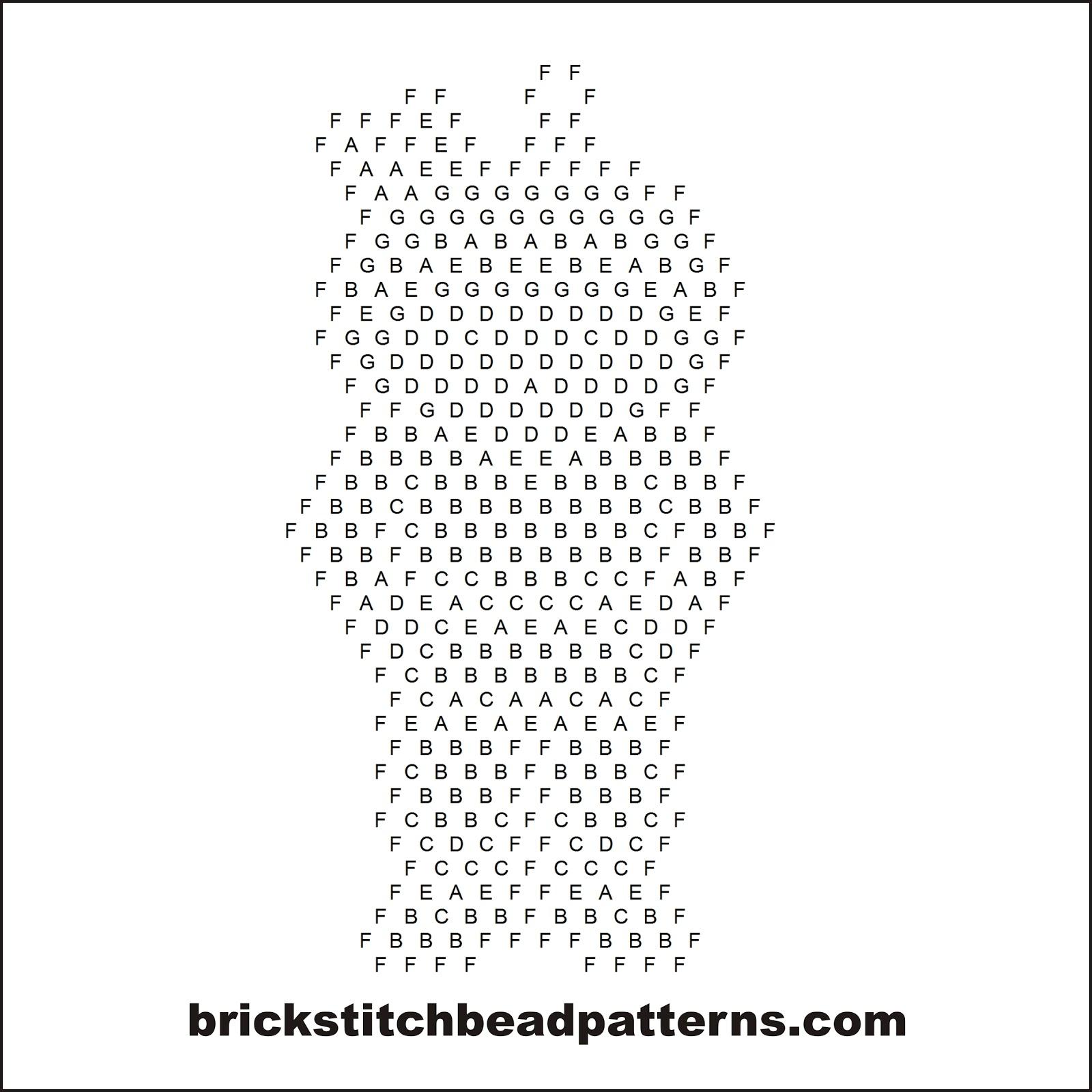 Brick Stitch Bead Patterns Journal: Little Native American