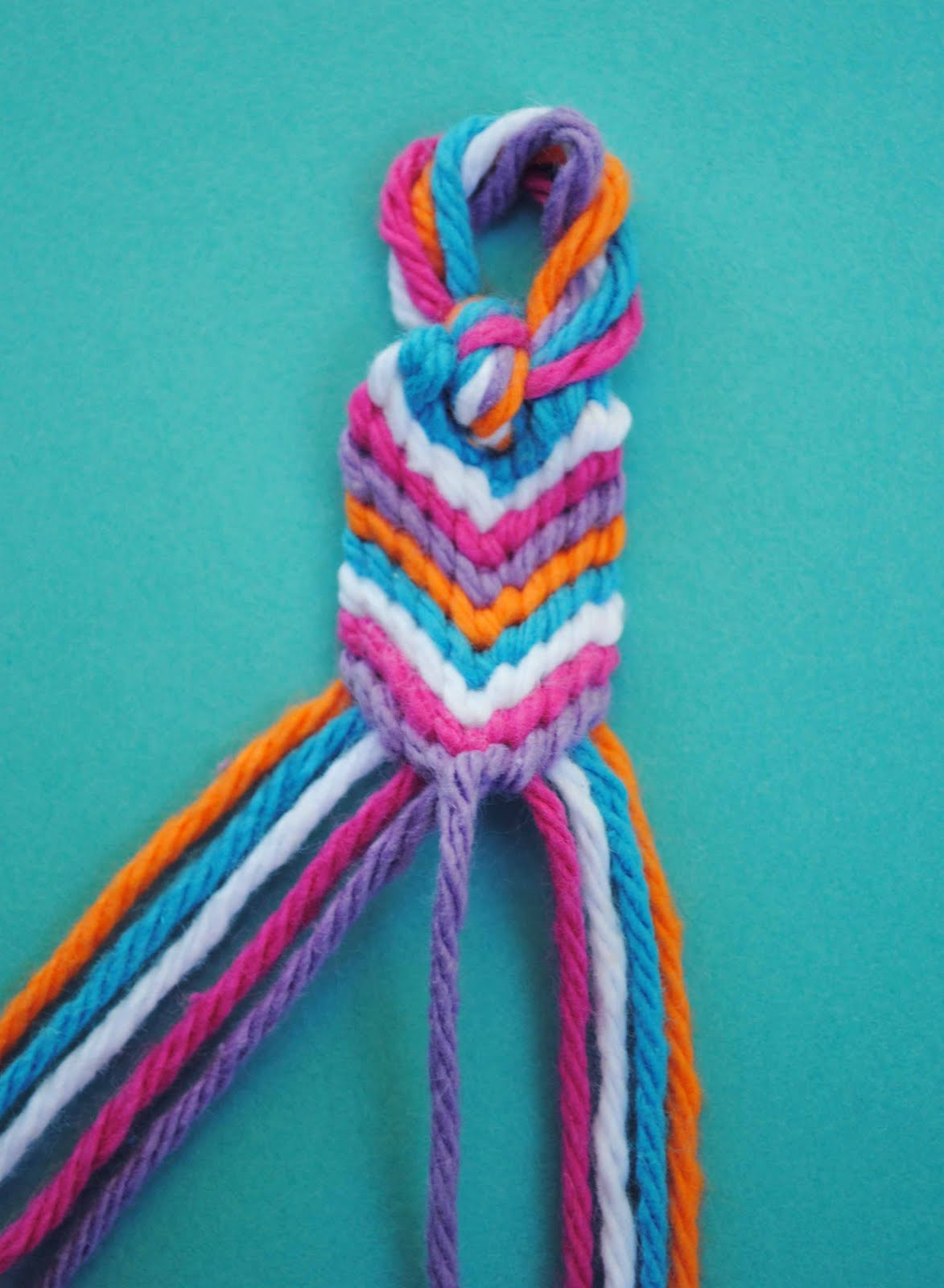 how to make a bracelet out of string zakka how to make an oversized friendship bracelet 6401