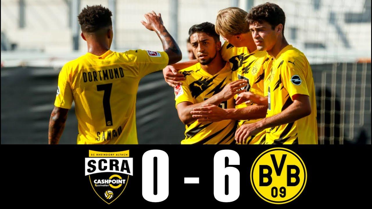 Video Rheindorf Altach 0-6 Borussia Dortmund