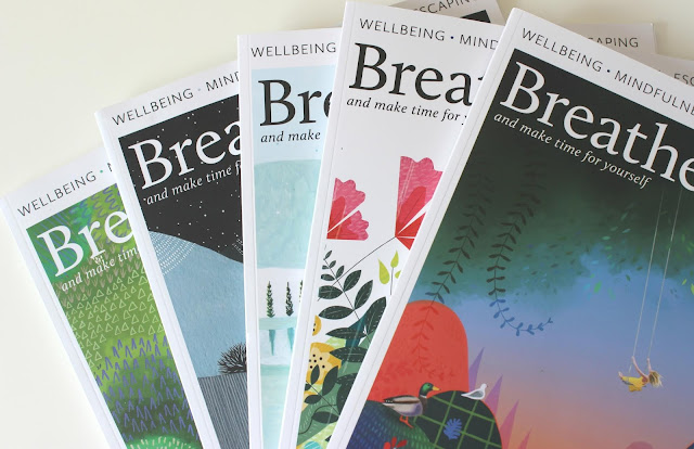 A review of Breathe Magazine for mindfulness and wellbing