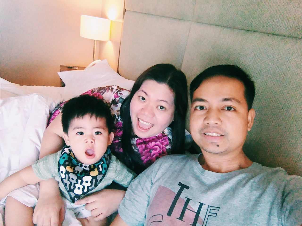 Family staycation in Acacia Hotel
