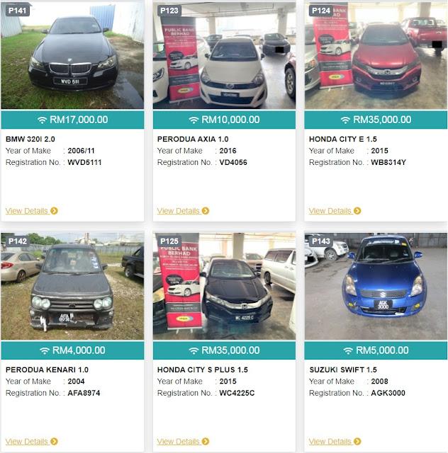 Peluang Beli Kereta Murah Harga Bawah RM5 ribu ringgit