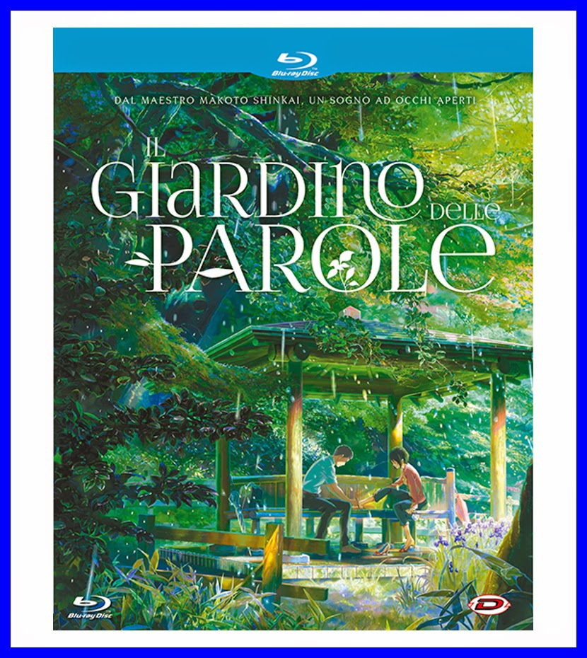 Anime on blu ray il giardino delle parole - Il giardino delle parole libro ...