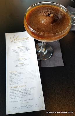 Velouria espresso martini