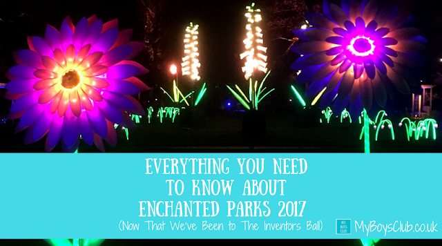 Everything You Need To Know About Enchanted Parks 2017 Now That We've Been to The Inventors Ball