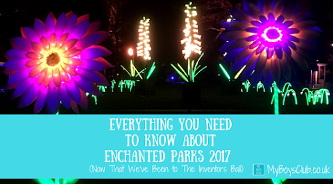 Everything You Need To Know About Enchanted Parks 2017 ... Now That We've Been to The Inventors Ball (REVIEW)