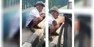 Kisah Kakek Sahur dan Berbuka dengan Air Putih Saja, Bikin Nangis!